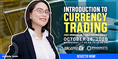 Free Webinar on Introduction to Forex Trading tickets