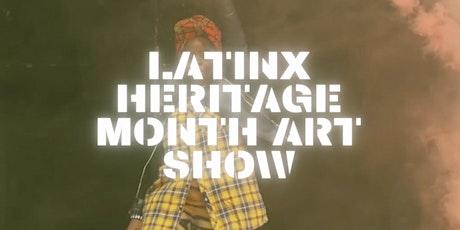 Uptowns Finest x Raw Gallery NYC LatinX Heritage Month Art Show tickets