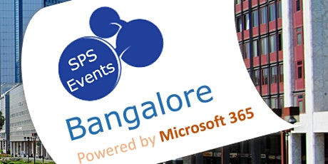 M365 Saturday Bangalore 2020 tickets