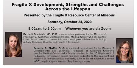 The 27th Fragile X Syndrome Symposium: Fragile X Across the Lifespan tickets