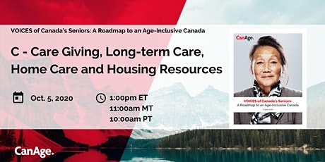 """VOICES: """" C - Caregiving, Long-Term Care, Home Care and Housing Resources"""" tickets"""