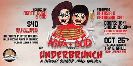 The Under-Brunch: A Spooky Sunday Drag Brunch tickets