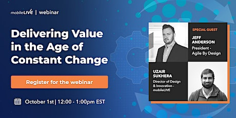 Delivering Value in the Age of Constant Change tickets
