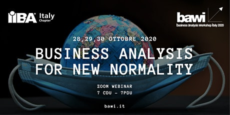 Business Analysis Workshop Italy - BAWI - 2020 (7 CDU/PDU!) tickets