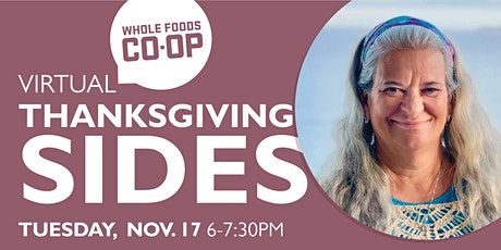FREE WFC-U Class - Thanksgiving Sides with Chef Coco! tickets
