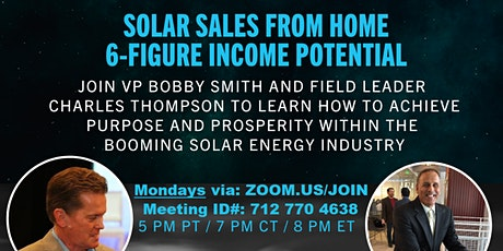 PA$$IVE/RE$IDUAL INCOME w/ the PowUr Part-time, Home-based Solar Biz Opp tickets