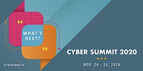 Cyber Summit '20: What's Next? tickets
