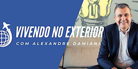 VIVENDO NO EXTERIOR - 4 ENCONTROS ONLINE E AO VIVO bilhetes