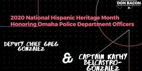 Hispanic Heritage Month 2020 Congressional Record Presentation tickets