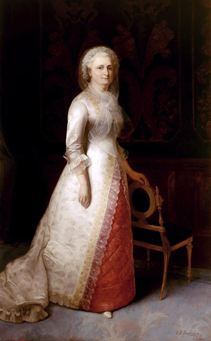 The Real Martha Washington - Livestream History Program image