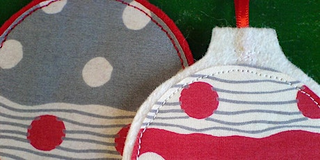 Fabric Baubles tickets