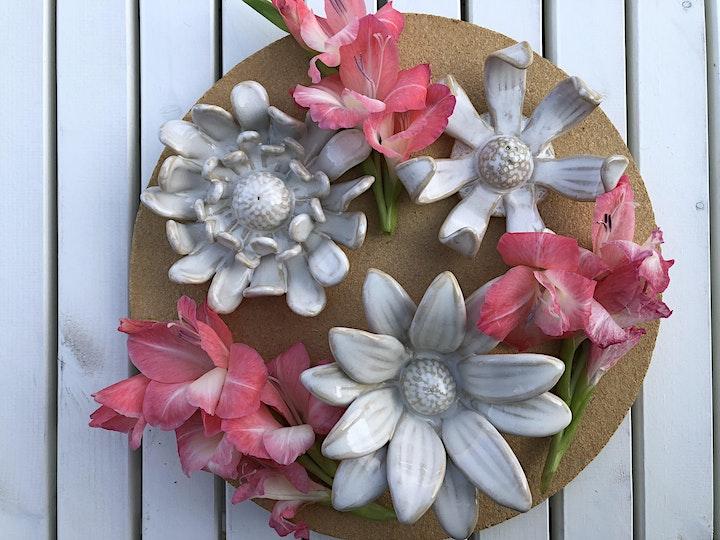Clay Flower - Handbuilding with Jan Mok image