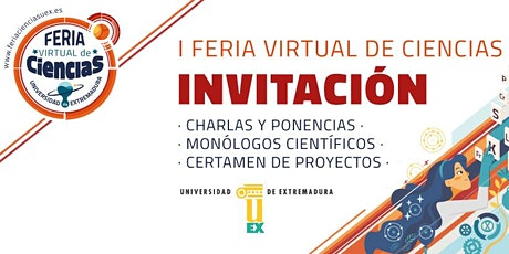 Feria Virtual de Ciencias UEx boletos