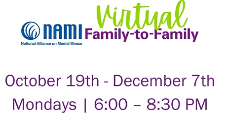 NAMI Greater Milwaukee Virtual Family to Family tickets