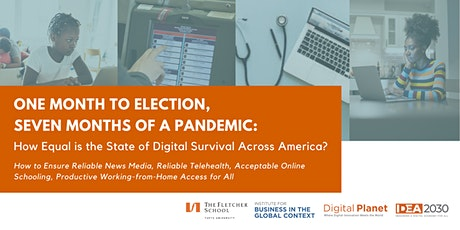 How Equal is the State of Digital Survival Across America? tickets