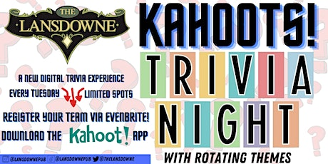 The Office Trivia w/ Kahoot! At The Lansdowne Pub! tickets