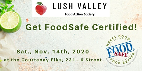 FoodSafe Level 1 Certification Workshop  CLASS FULL tickets