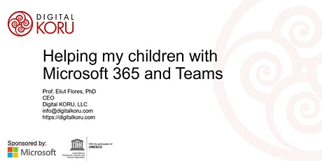 Helping my children with Microsoft 365 and Teams tickets