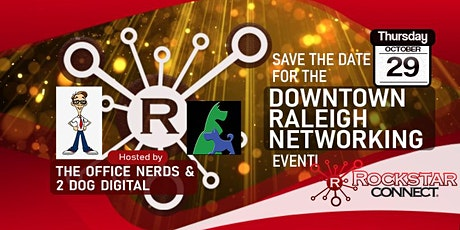 Free Downtown Raleigh Rockstar Connect Networking Event (October, NC) tickets
