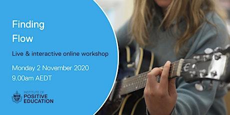Finding Flow Online Workshop (November 2020) tickets
