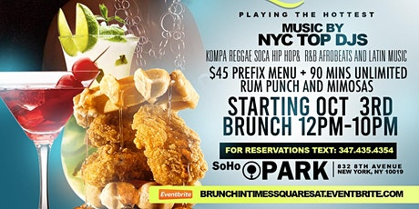 Saturday BRUNCH IN TIME SQUARE tickets