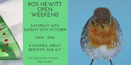 Open Weekend with Ros Hewitt Glass! tickets