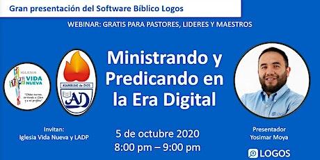 Ministrando y Predicando en la Era Digital entradas