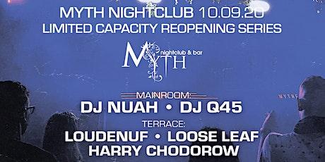 Outlet Fridays at Myth Nightclub   Friday 10.09.20 tickets