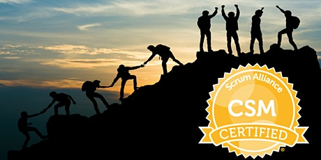 Certified Scrum Master (CSM) Virtual Training tickets