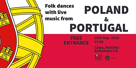Folk Dances with Live music: Poland and Portugal tickets