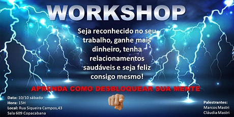 WORKSHOP DESPERTANDO PARA A ABUNDÂNCIA ingressos