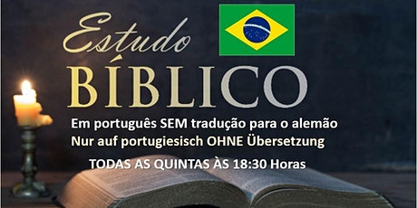 Estudo Bíblico (somente em português) ingressos