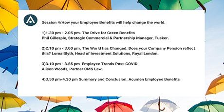 AEB Live Part 4/4:  How your benefits will help change the world tickets