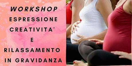Workshop: espressione, creatività e rilassamento in gravidanza biglietti