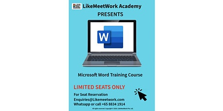Introductory Microsoft Word tickets
