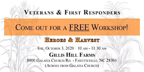 Heroes & Harvest tickets