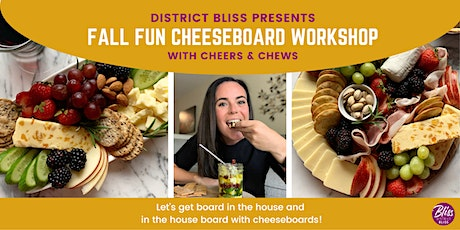 Fall Cheeseboard Crafting Workshop: Make Your Cheese Plate Instagram-Worthy tickets