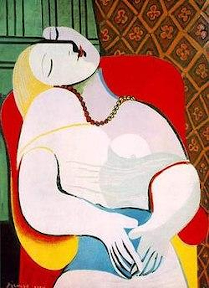 Picasso's The Dream Painting Workshop  - no drawing skills needed image