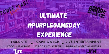 Ultimate Purple Game Day Experience 10/18 tickets