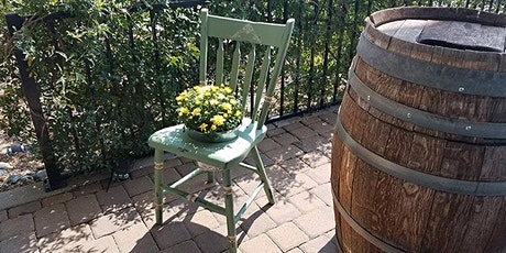 Shabby Chic Chair Planter Chalk Paint Class tickets