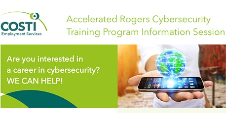 Accelerated Rogers Cybersecurity Training Program Information Session tickets