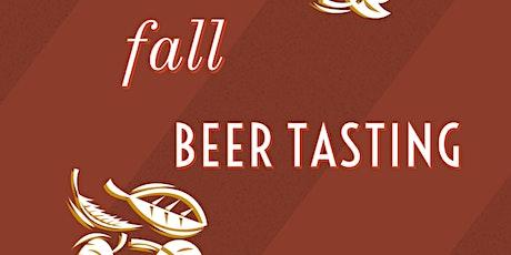 October Beer Tasting: Fall Brews tickets