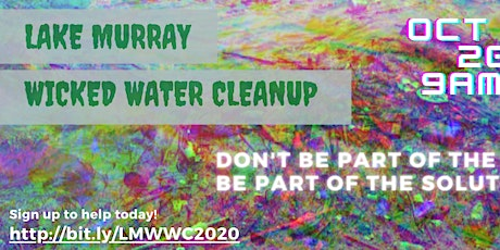 Lake Murray Wicked Water Cleanup tickets