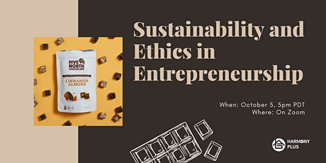 Sustainability and Ethics in Entrepreneurship tickets