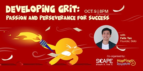 Developing Grit: Passion and Perseverance for Success tickets