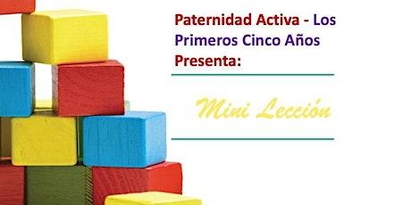 Paternidad Activa Los Primeros Cinco Años: Prevención de Problemas boletos