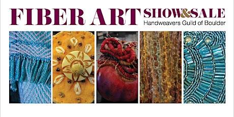 2021 Fiber Art Show & Sale – Handweavers Guild of Boulder tickets