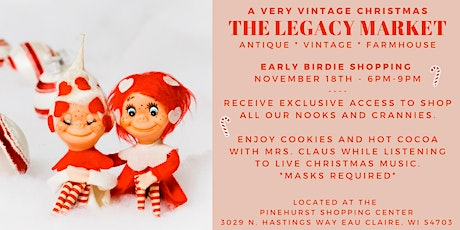 Very Vintage Christmas Sale - Early Birdie Shopping (November 18 | 6-9pm) tickets