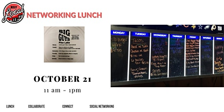 RelyLocal Networking Lunch @ Big Guys tickets