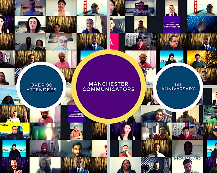 Public Speaking and Leadership with Manchester Communicators image
